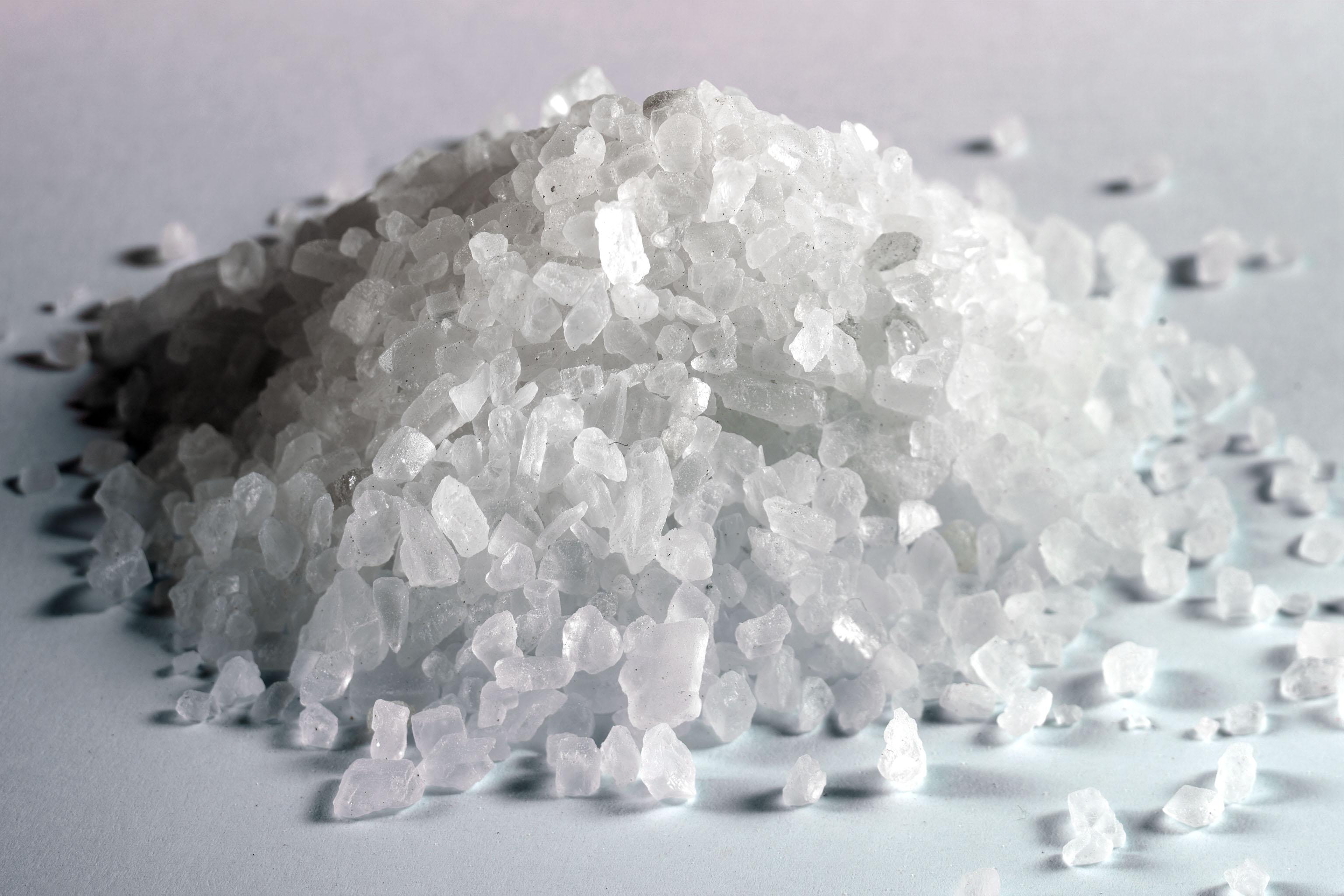 Salz, grobes Natur-Kristallsalz für die Mühle, 500g ...