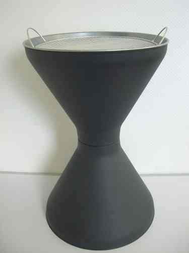 Diabolo standing ashtray, height 600 (/) 400mm