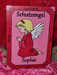 Guardian angel birthday name plate