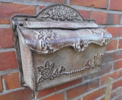 postkasten briefkasten antik kupfer. Black Bedroom Furniture Sets. Home Design Ideas