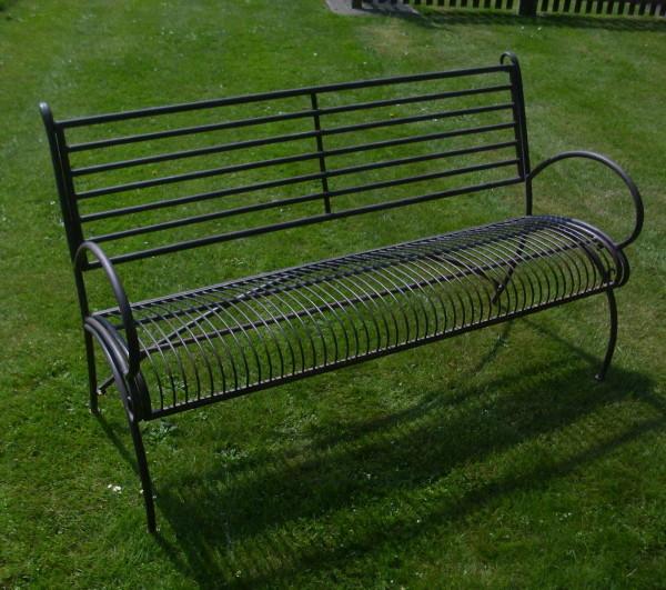 gartenbank antik nostalgie landhausstil neu gartenm bel metall parkbank eisen ebay. Black Bedroom Furniture Sets. Home Design Ideas
