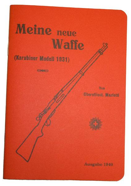 Bedienungsanleitung Handbuch Fur Schweizer Gewehre Und Karabiner K31 Gebraucht Schwaben Arms Gmbh Onlineshop