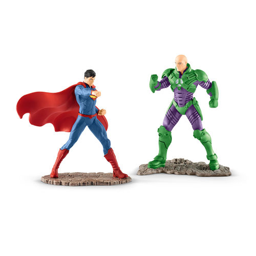 Schleich 22541 Scenery Pack SUPERMAN vs LEX LUTHOR