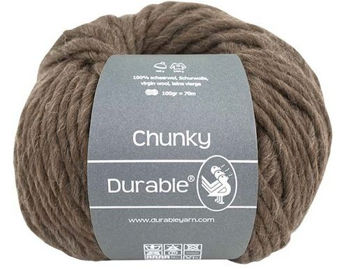 Chunky 2230 dark brown, Durable
