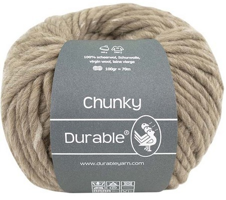Chunky 340 taupe, Durable