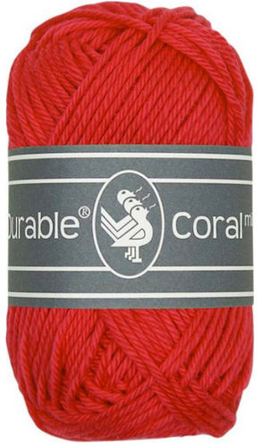 Coral Mini 316 red, Durable