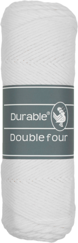 Double Four Fb. 310 White, Durable Yarn