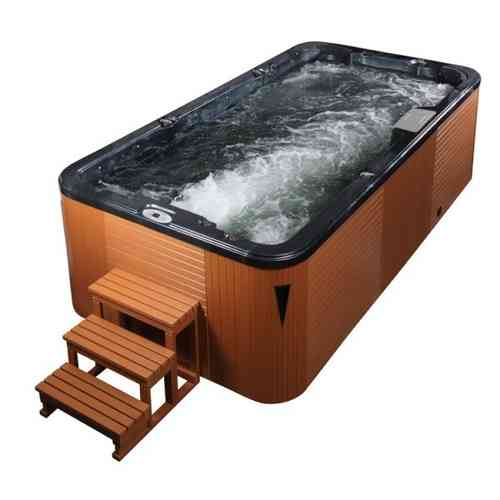 EO-SPA Aussenwhirlpool SWIM SPA Aquacise 4.5 PearlShadow/450x230/braun