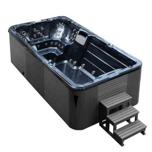 EO-SPA Aussenwhirlpool SWIM SPA Aquacise 4.5 PearlShadow/450x230/grau