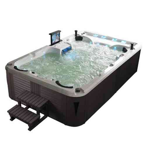 EO-SPA Sorrento 3.8 TV Sterling Silver /380x230/grau Extrem