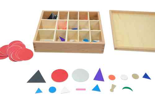 Wooden Grammar Symbols 15 different type in a Box