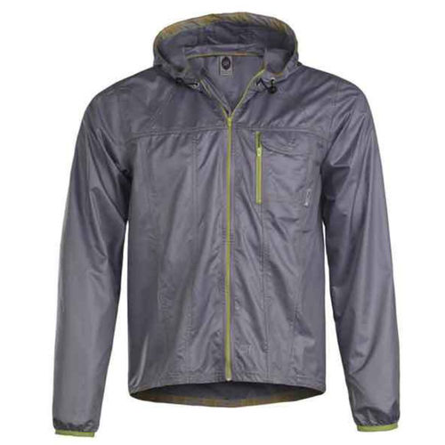Club Ride Cross Wind Rain Jacket Chrome XL