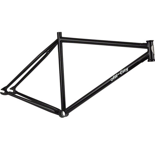 All-City Def Wish Singlespeed Frame Black