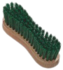 "Leistner Hufbürste ""hoof brush"" grün, 120x35 mm"