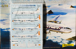 Heller DC-6B kit 80315 with 72021 VIP transport flight Decals