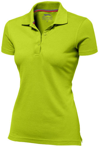 "SLAZENGER Damen Polo ""Advantage"" mit Druck"