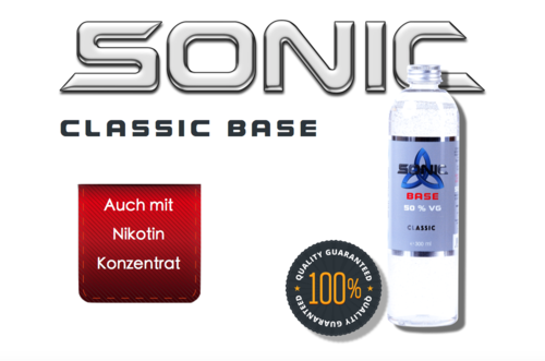 SONIC CLASSIC BASE 300ml - 50 VG