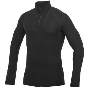 WOOLPOWER Lite Zip Turtelneck