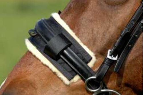 Lambskin-Protector Noseband by CHRIST