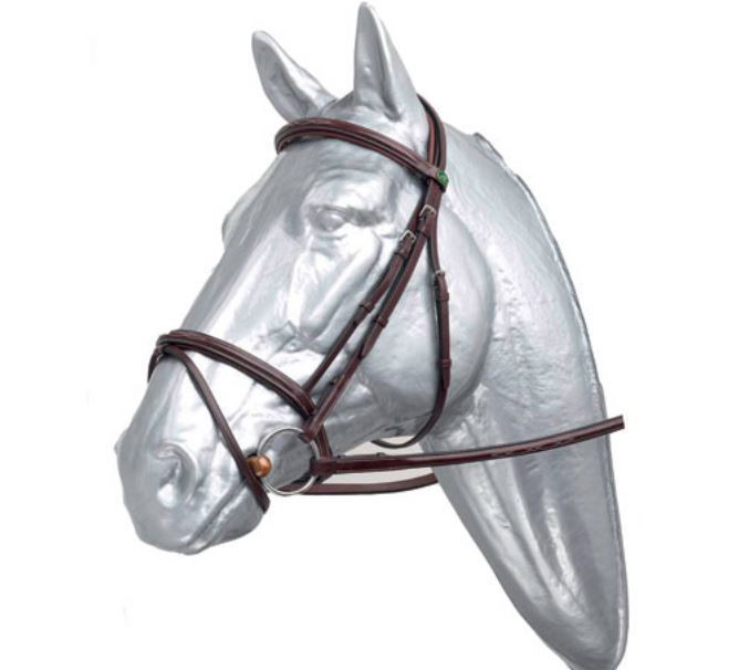 Leather raised bridle by PRESTIGE