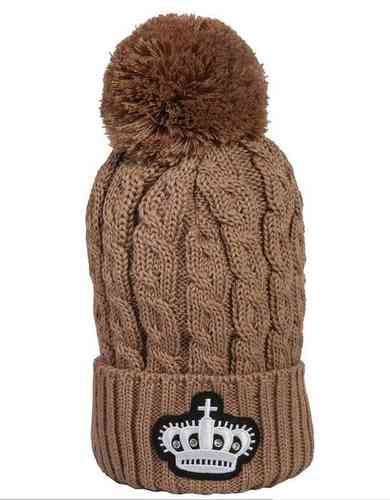 KINGSLAND cable knitted hat Kilwinning
