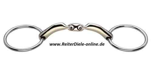 SPRENGER Novocontact Loose ring snaffle, double jointed
