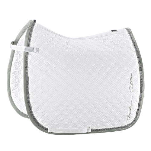 ESKADRON SaddlePad Glossy ORNAMENTS Plat.PURE
