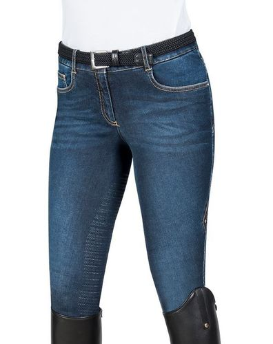 Equiline  ladies half-Grip jeans breeches LILY