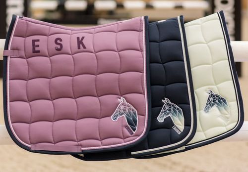 ESKADRON Saddle Pad GLOSSY PERFORMANCE NG 2018
