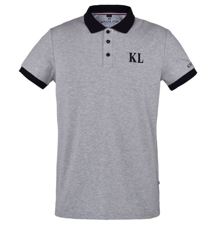 Kingsland Mens Cotton Polo Shirt TYBEE
