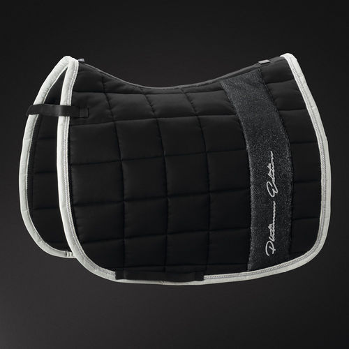 Saddle Pad Cotton BIG SQUARE Platinum 2018