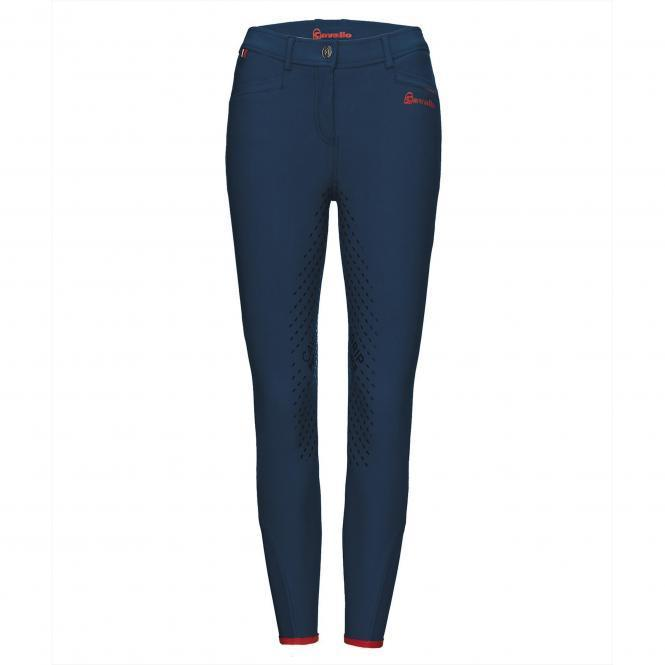 Cavallo Reithose CASS Grip JUNIOR navy