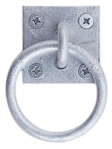 Tie Ring PLATTE, zinc-plated
