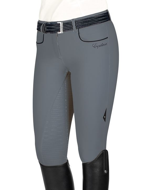 EQUILINE Softshell Breeches PEONY Full Grip