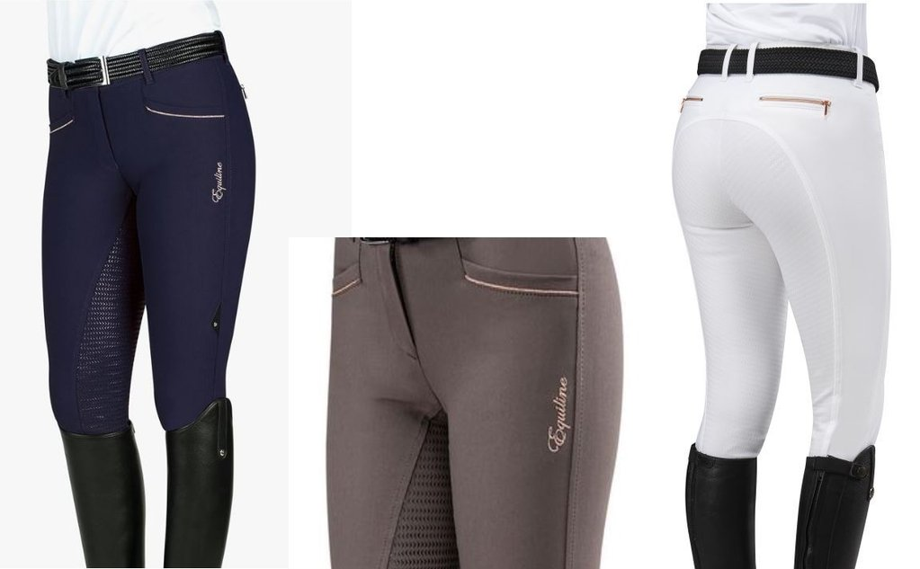 Equiline Ladies Breeches CELIA Fullgrip