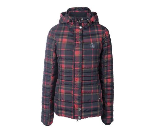 CAVALLO Ladies Quilted Jacket RAHIMA Check