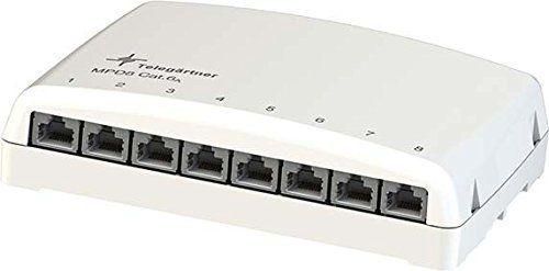 TELEGÄRTNER J02021A0030 Mini-Verteiler MPD8-HS Kat.6A (IEC) …