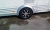 6Jx14 5 holes  ALLOYRIM Caravan/ trailer MODELL  *14*-5 BLACK-SILVER  max. load up to 1000 kg WILK