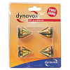Dynavox Sub-Watt-Absorber 4er Set Messing
