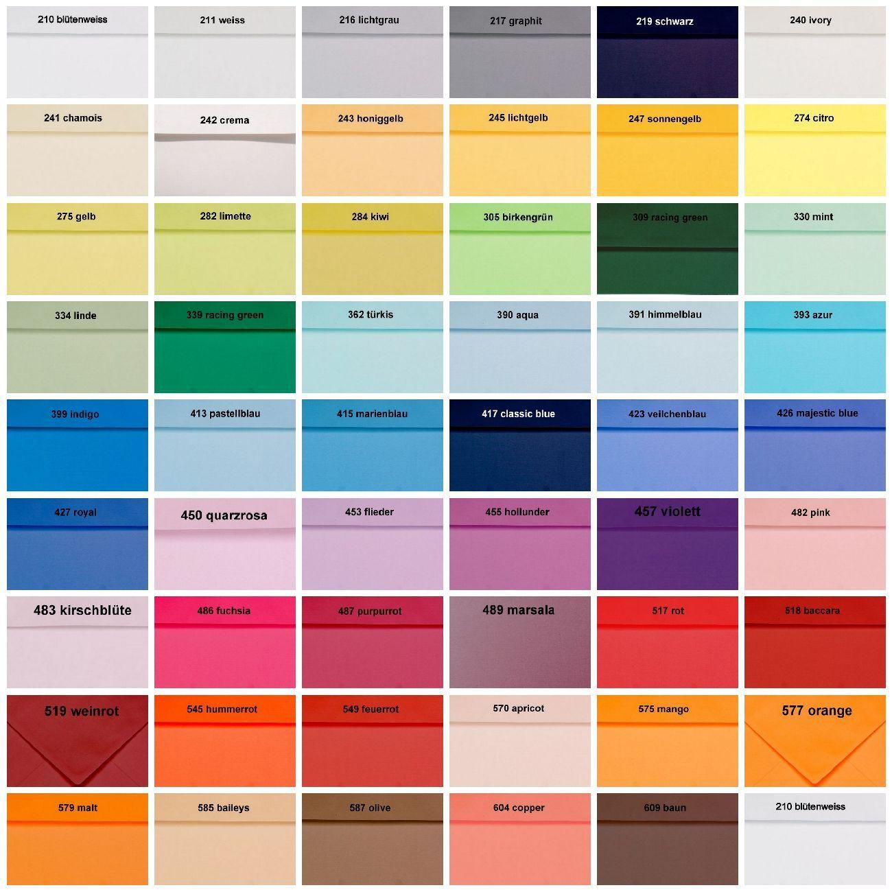 50 Artoz Papier 1001 Bogen Einfach DIN A4 100g Farben