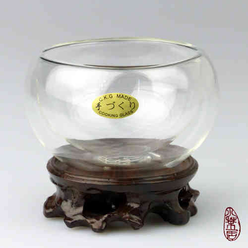 double-walled Glass Teacup 150