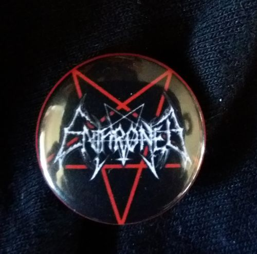 Enthroned - Button