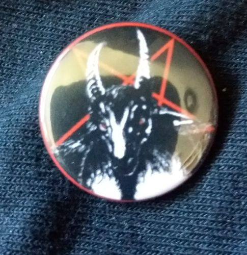Bathory - Pentagram Button