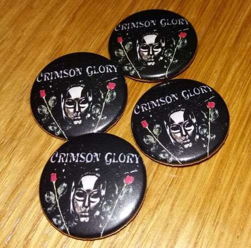 Crimson Glory - Button