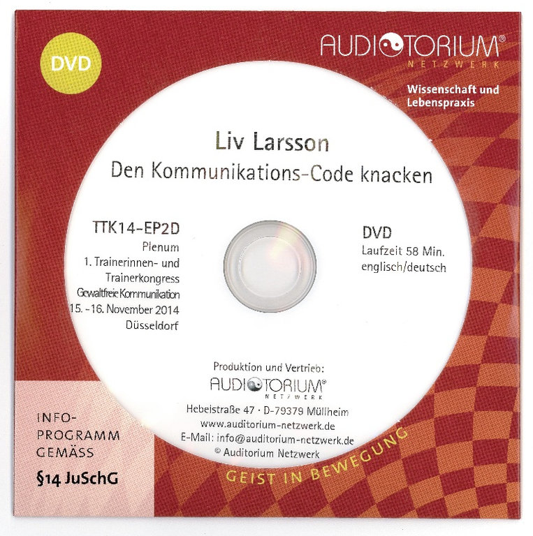 Liv Larsson Speech: Breaking the communication code