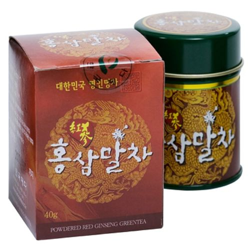 Hongsam Garucha / Red ginsen green tea power (Matcha) 40g