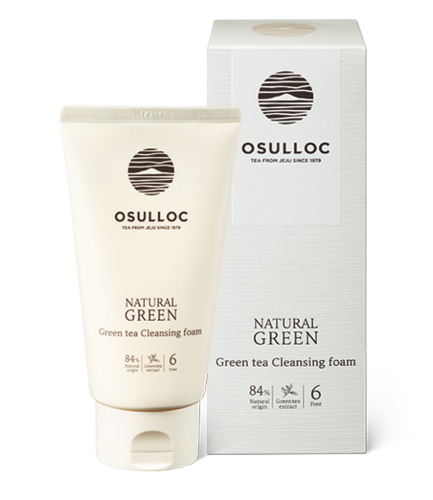 Osulloc  Natural Green Tea Cleasing Foam