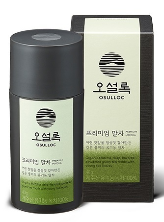 Osulloc Premium Grüner Tea Powder /오설록  프레미움 말차 40g