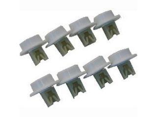 8 Stück Korbrollen Unterkorb 5027905900 AEG Electrolux