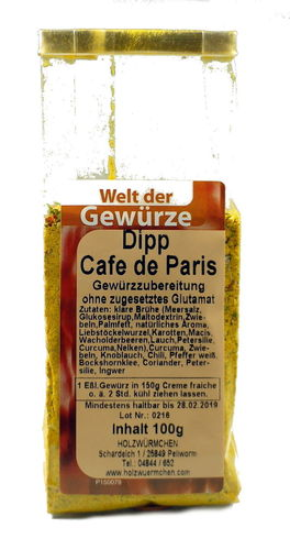 "Dipp ""Cafe de Paris"""